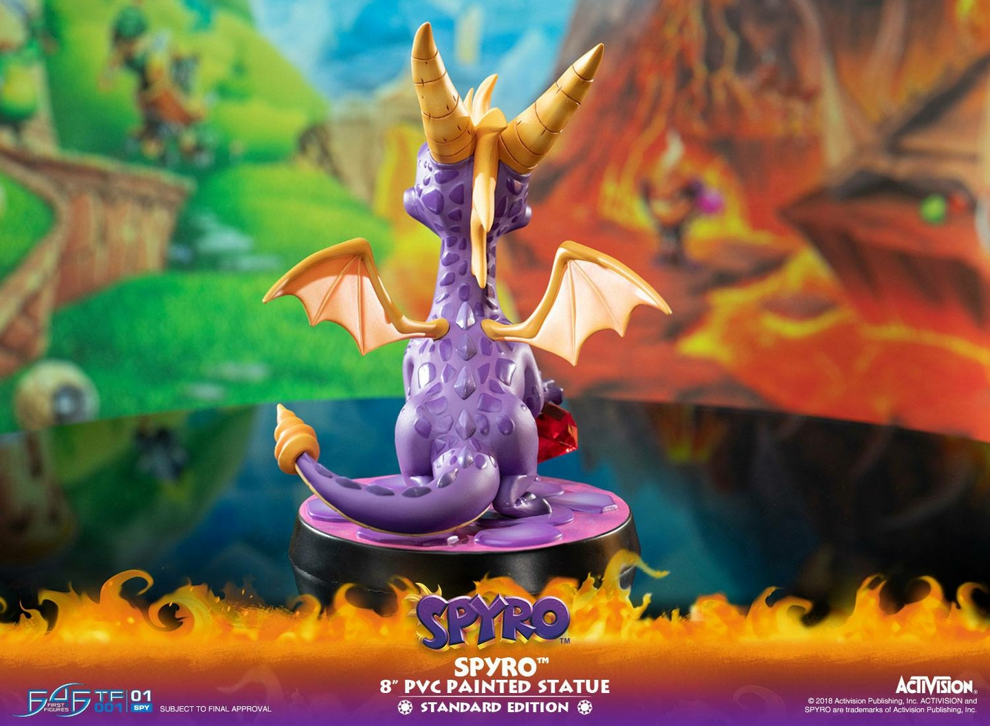 Statuette Spyro the Dragon Spyro 20cm 1001 Figurines (14)