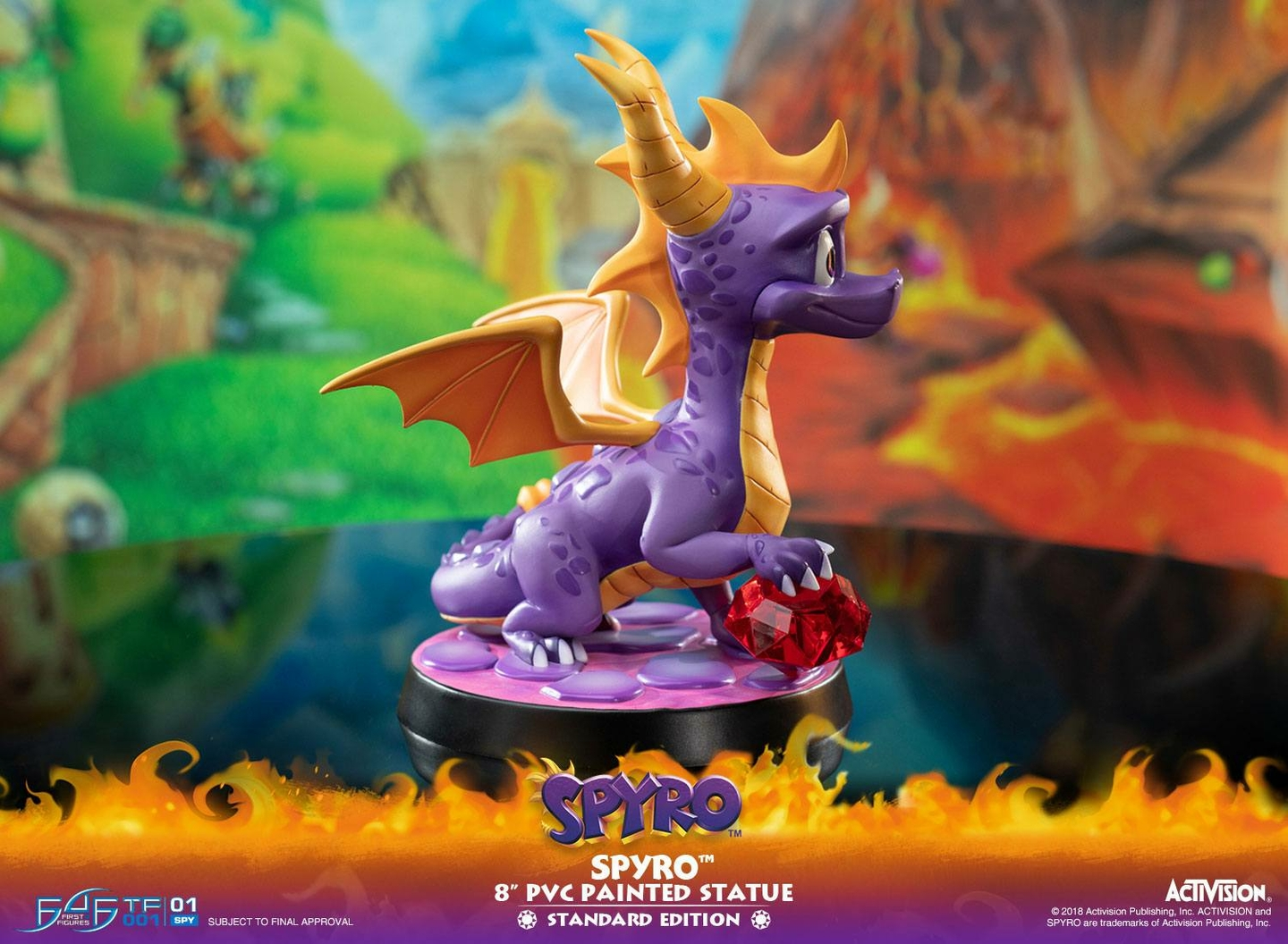 Statuette Spyro the Dragon Spyro 20cm 1001 Figurines (16)