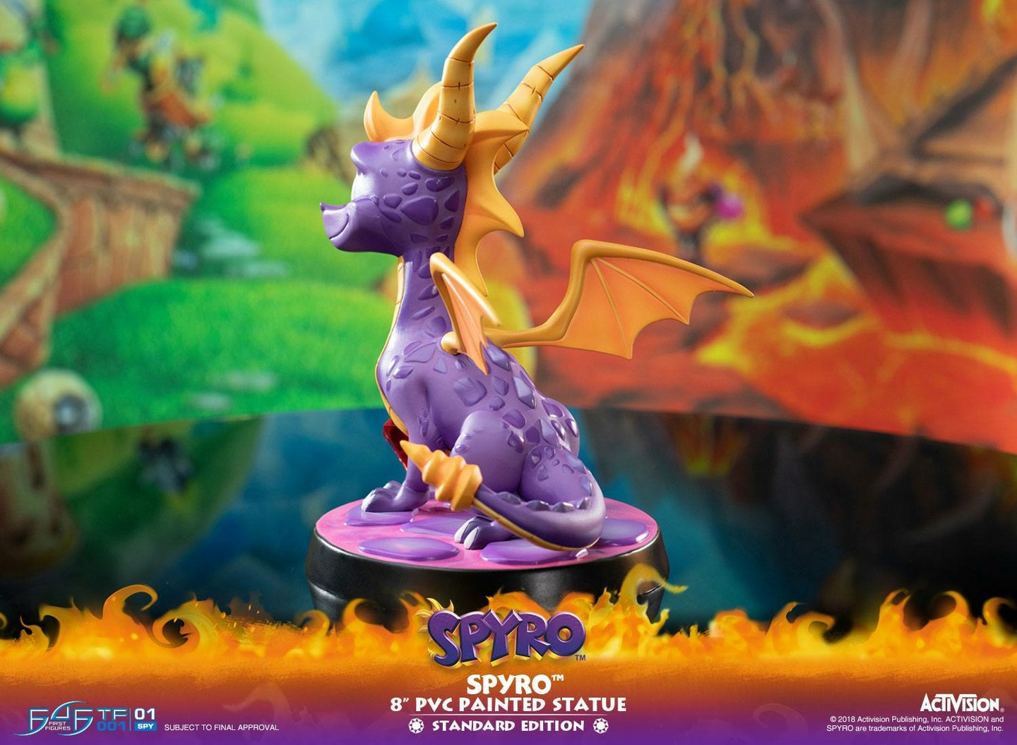 Statuette Spyro the Dragon Spyro 20cm 1001 Figurines (13)