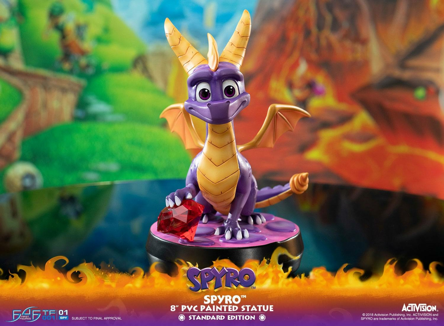 Statuette Spyro the Dragon Spyro 20cm 1001 Figurines (19)