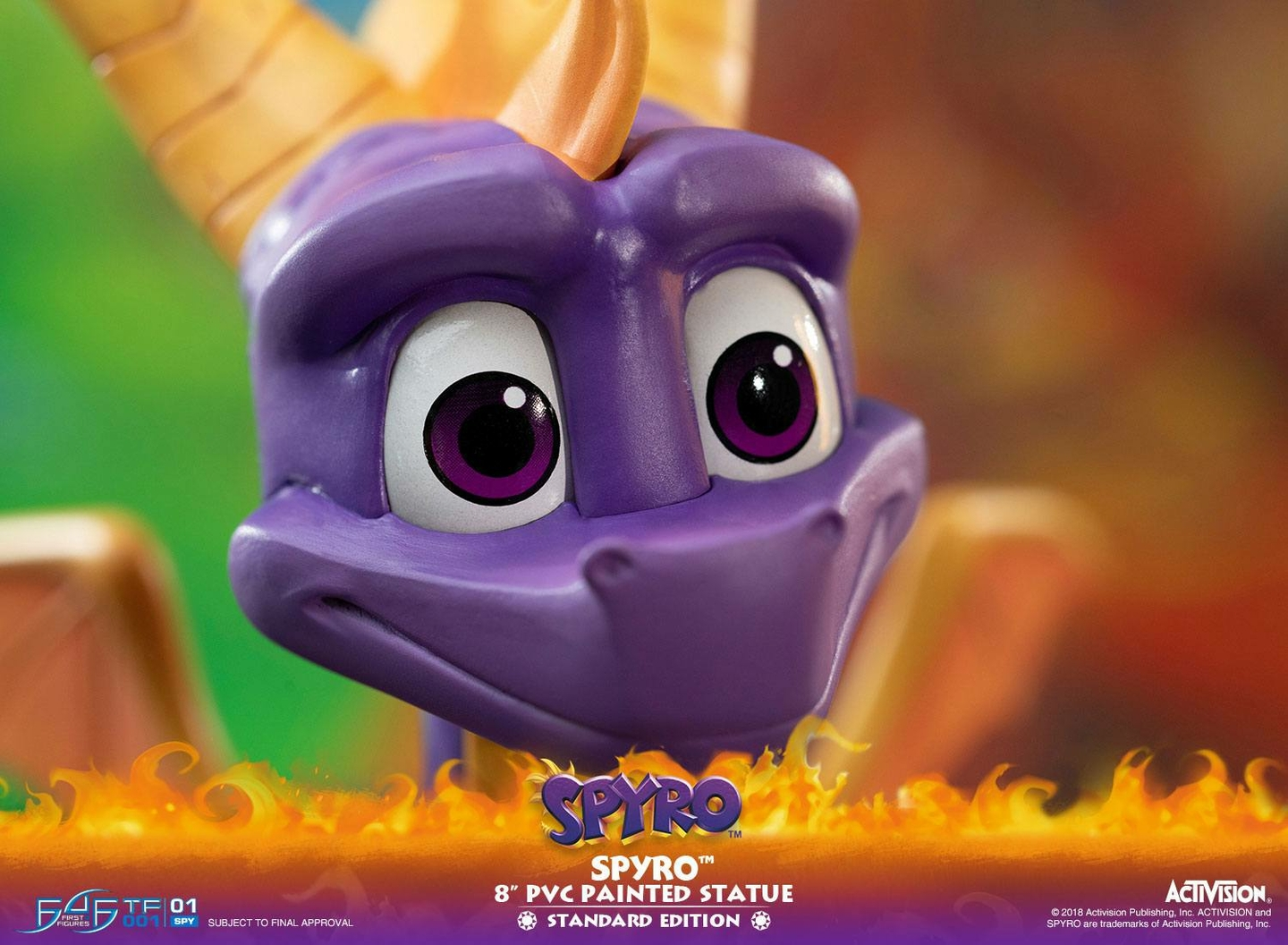 Statuette Spyro the Dragon Spyro 20cm 1001 Figurines (20)