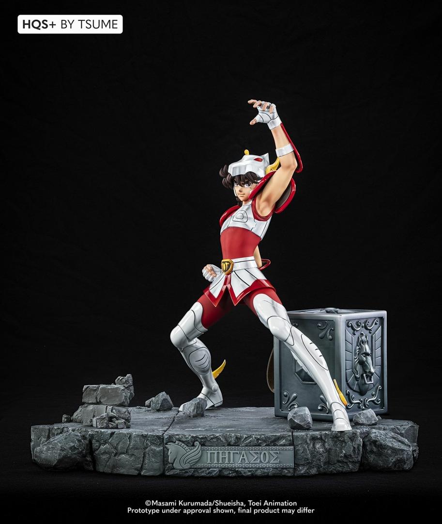 Statue Saint Seiya Pegasus HQS+ By Tsume 54cm 1001 Figurines 3