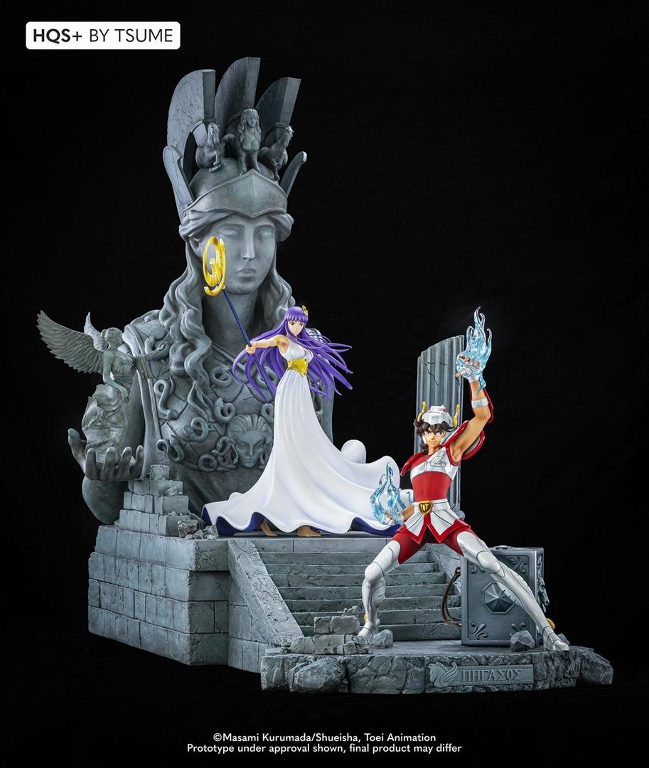 Statue Saint Seiya Pegasus HQS+ By Tsume 54cm 1001 Figurines 17