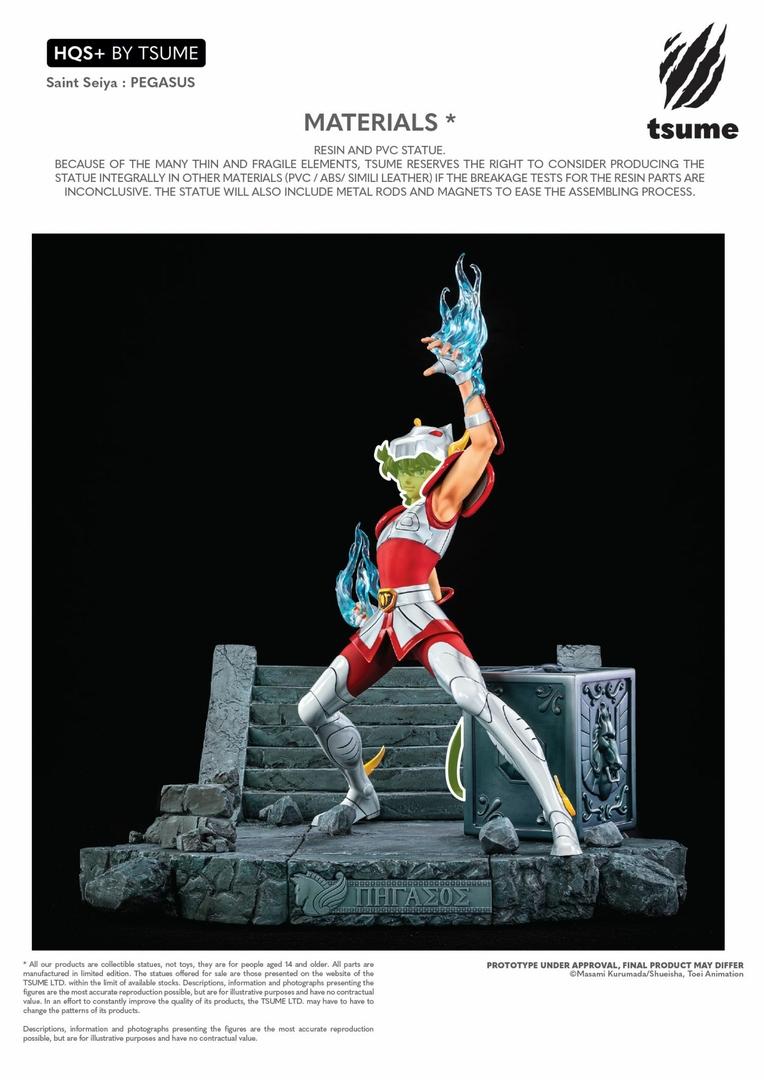 Statue Saint Seiya Pegasus HQS+ By Tsume 54cm 1001 Figurines 19