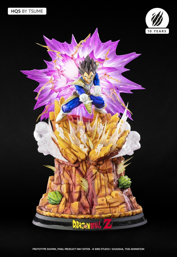 Statue Dragon Ball Z Vegeta Galick Gun HQS by Tsume  1001 Figurines 1