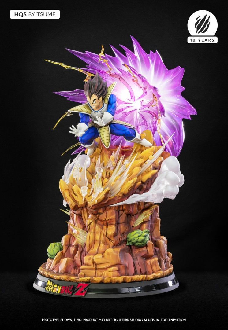 Statue Dragon Ball Z Vegeta Galick Gun HQS by Tsume  1001 Figurines 3