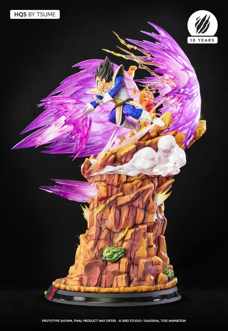 Statue Dragon Ball Z Vegeta Galick Gun HQS by Tsume  1001 Figurines 8