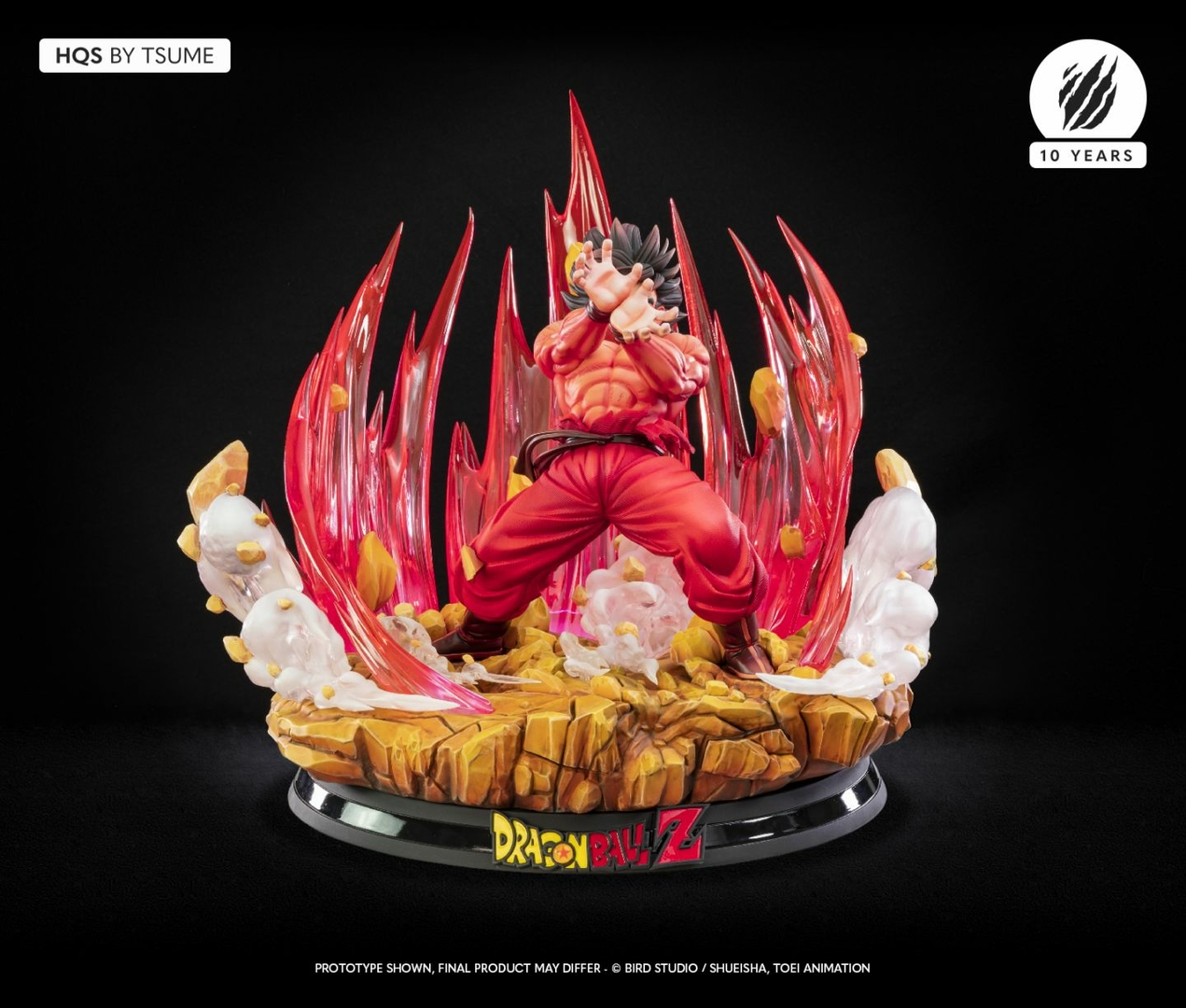 Statue Dragon Ball Z Goku Kaio-ken HQS by Tsume 1001 Figurines 3