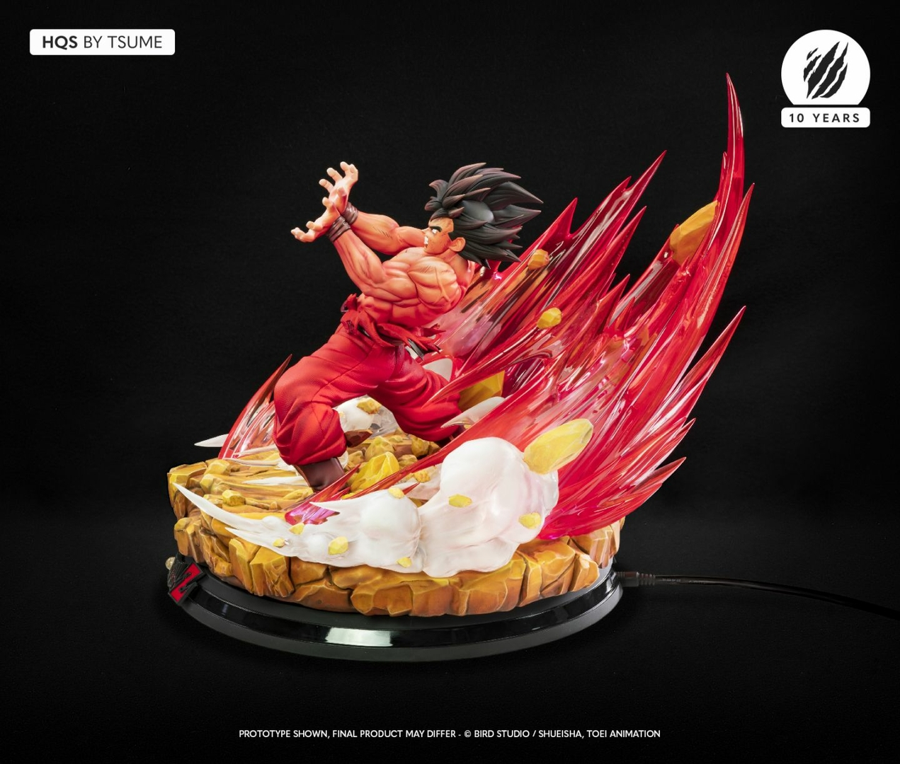 Statue Dragon Ball Z Goku Kaio-ken HQS by Tsume 1001 Figurines 5
