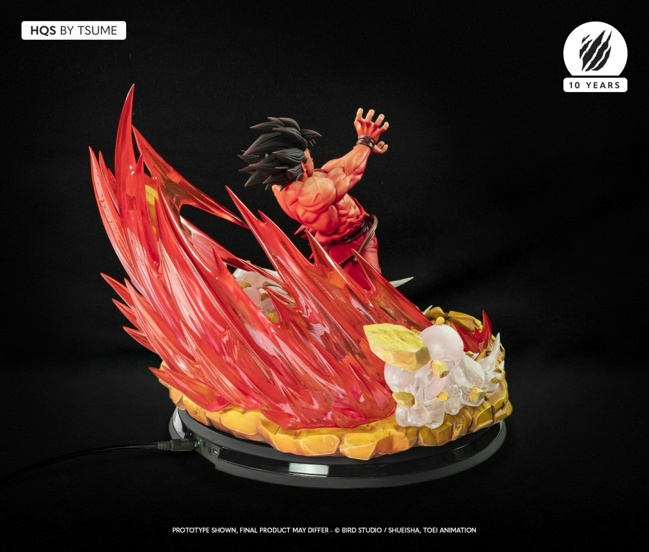 Statue Dragon Ball Z Goku Kaio-ken HQS by Tsume 1001 Figurines 8