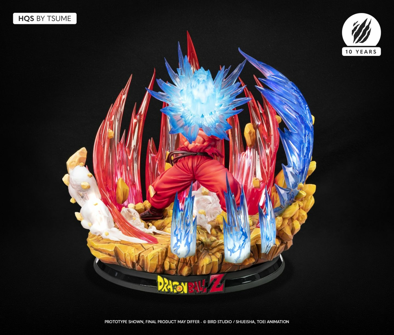 Statue Dragon Ball Z Goku Kaio-ken HQS by Tsume 1001 Figurines 10