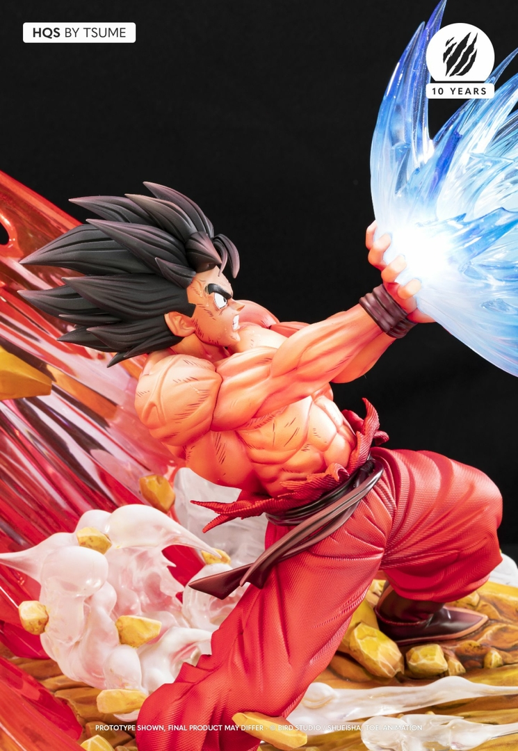 Statue Dragon Ball Z Goku Kaio-ken HQS by Tsume 1001 Figurines 13