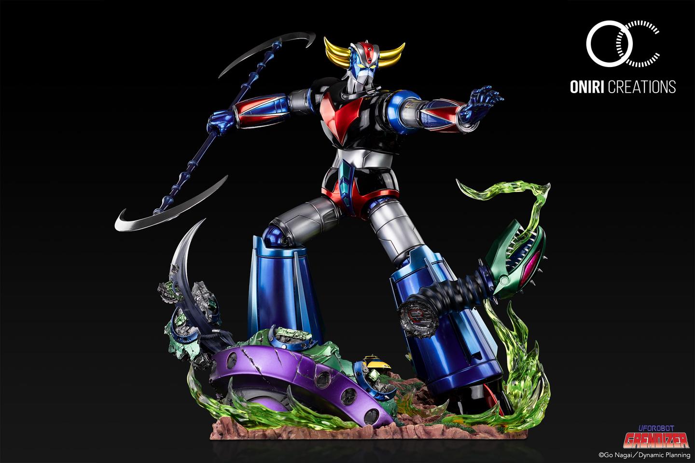 Statue Goldorak UFO Robot Grendizer Premium Oniri Creations 1001 Figurines  (2)