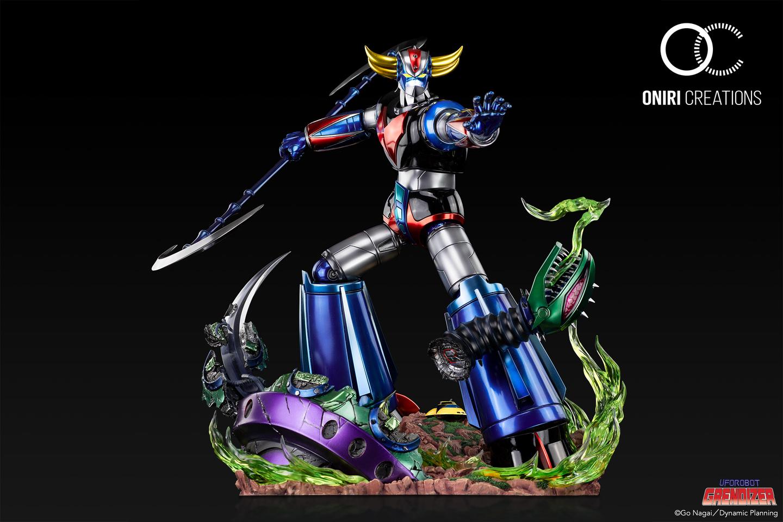 Statue Goldorak UFO Robot Grendizer Premium Oniri Creations 1001 Figurines  (3)