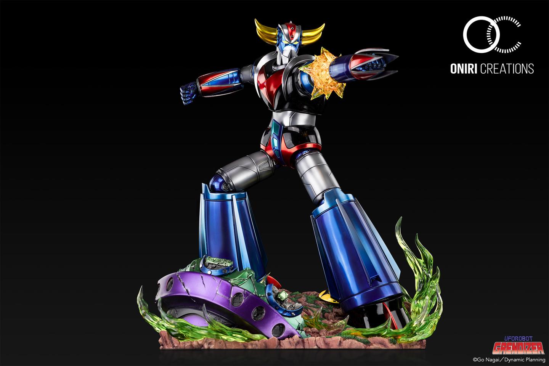 Statue Goldorak UFO Robot Grendizer Premium Oniri Creations 1001 Figurines  (8)