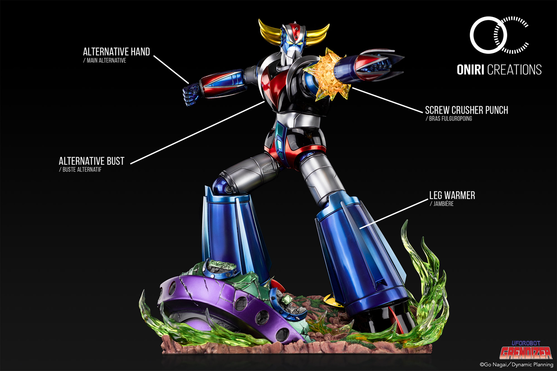 Statue Goldorak UFO Robot Grendizer Premium Oniri Creations 1001 Figurines  (7)