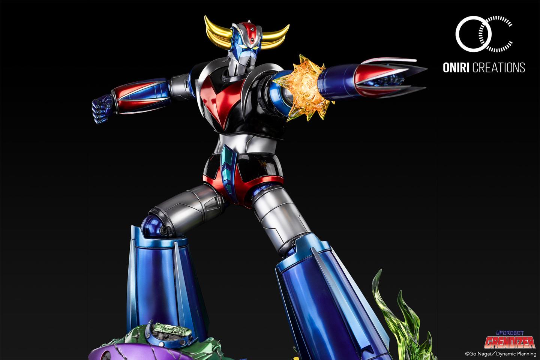 Statue Goldorak UFO Robot Grendizer Premium Oniri Creations 1001 Figurines  (11)