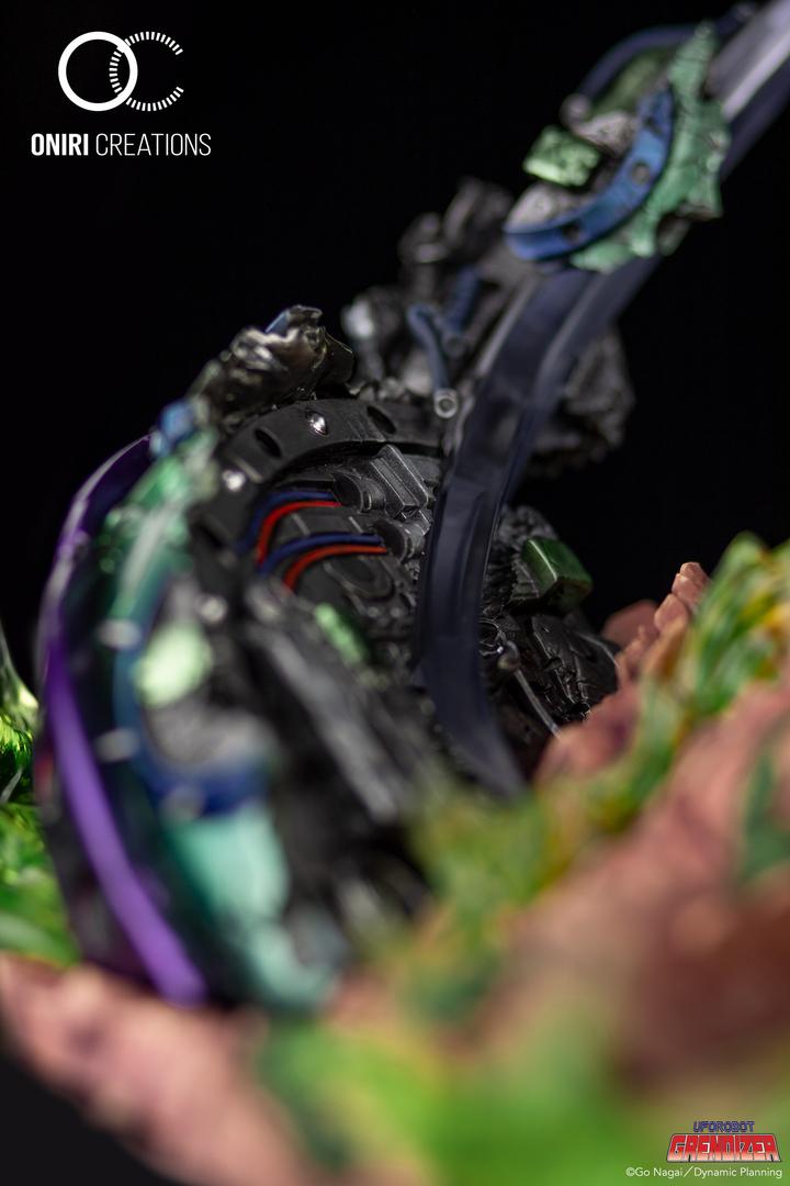 Statue Goldorak UFO Robot Grendizer Premium Oniri Creations 1001 Figurines  (20)