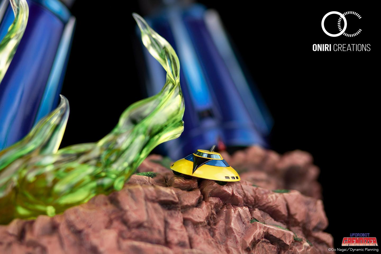 Statue Goldorak UFO Robot Grendizer Premium Oniri Creations 1001 Figurines  (21)