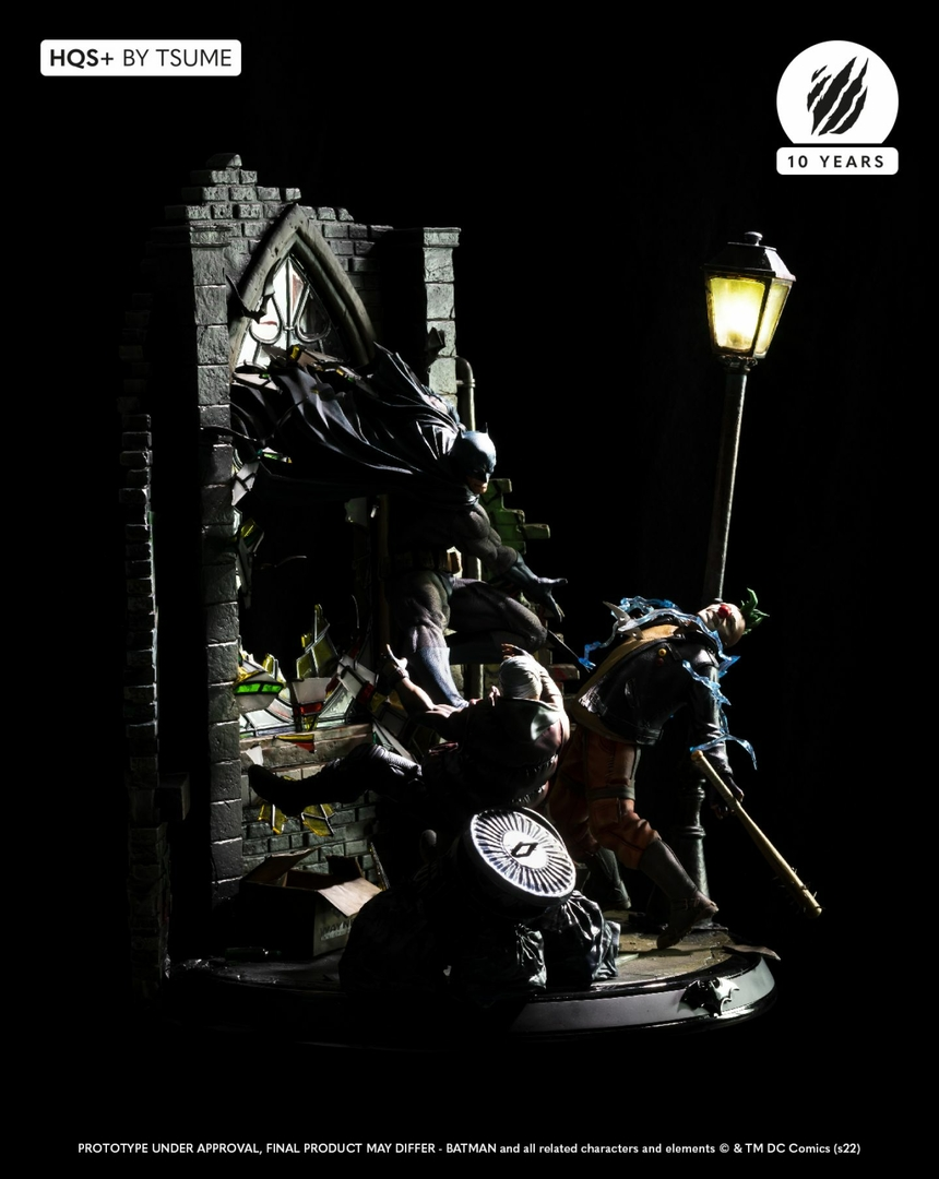 Statue Batman HQS+ by Tsume 60cm 1001 Figurines 5