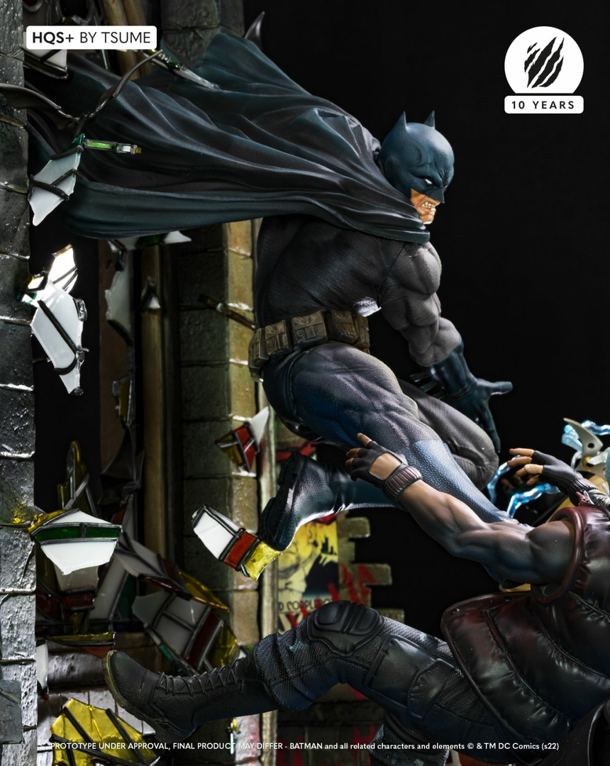 Statue Batman HQS+ by Tsume 60cm 1001 Figurines 7