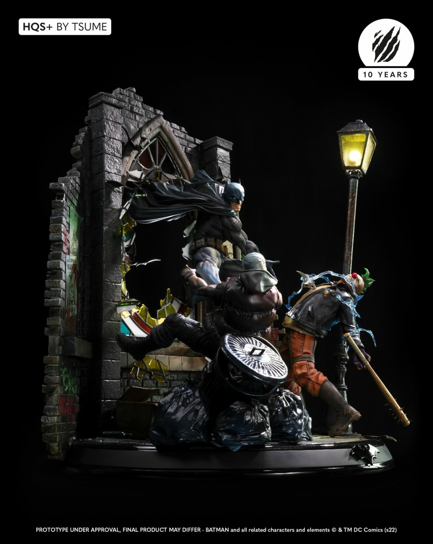 Statue Batman HQS+ by Tsume 60cm 1001 Figurines 15