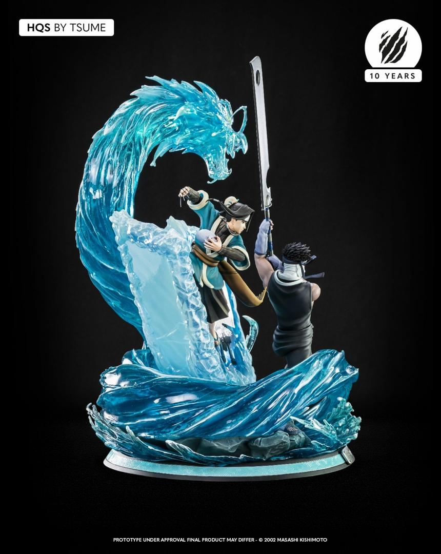 Statue Naruto Zabuza & Haku Tsume HQS 47cm 1001 Figurines 5