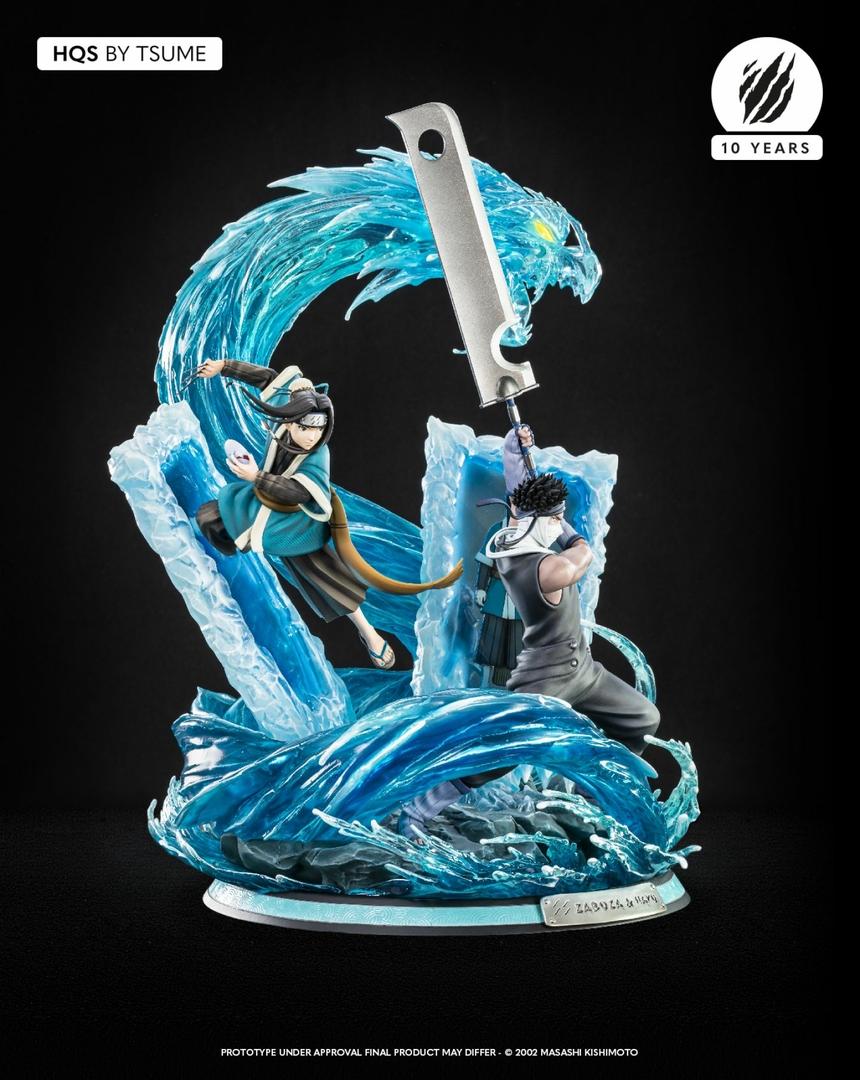 Statue Naruto Zabuza & Haku Tsume HQS 47cm 1001 Figurines 4