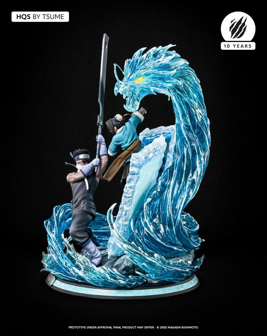 Statue Naruto Zabuza & Haku Tsume HQS 47cm 1001 Figurines 11
