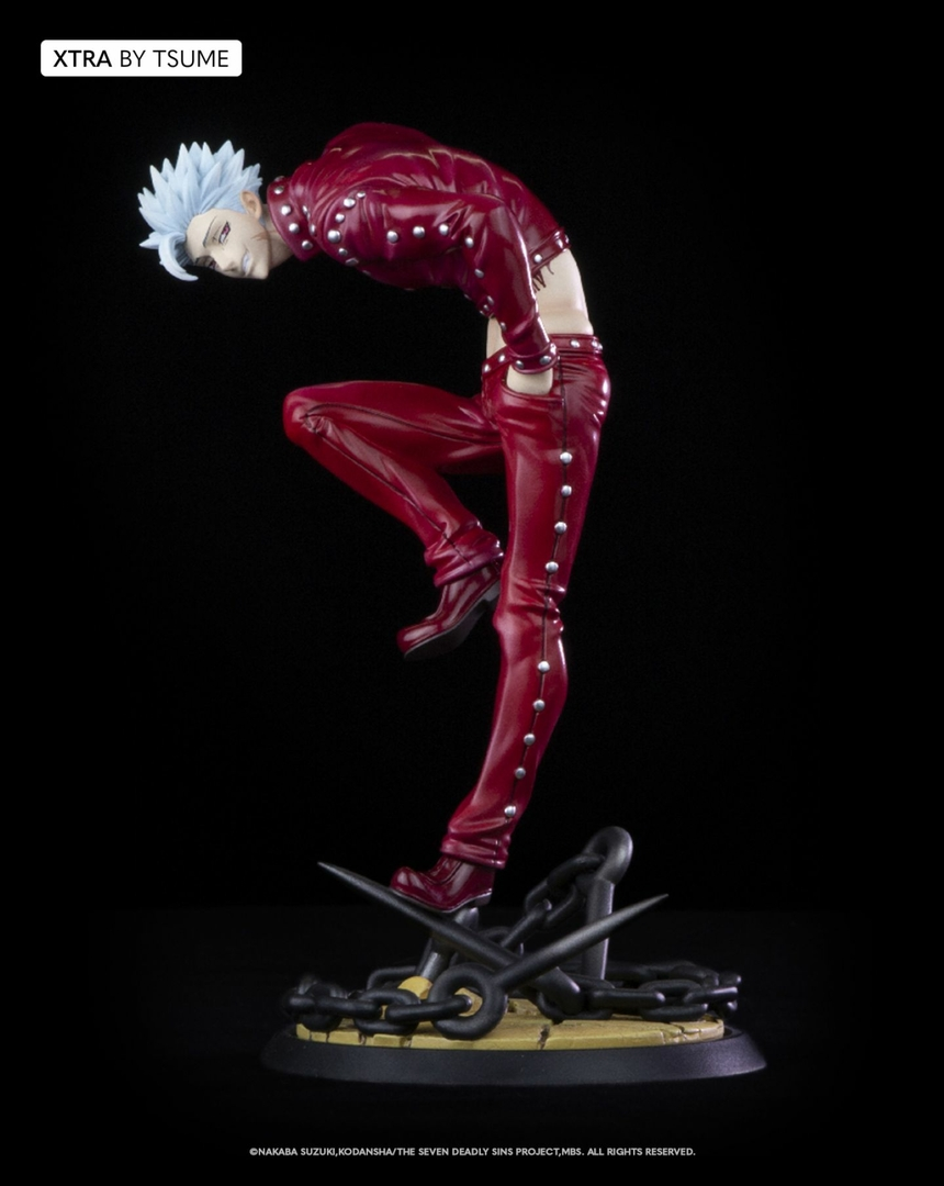 Statuette The Seven Deadly Sins Ban Xtra by Tsume 19cm 1001 Figurines 2