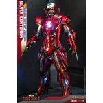 Figurine Iron Man 3 Movie Masterpiece Silver Centurion Armor Suit Up Version 32cm 1001 Figurines (1)