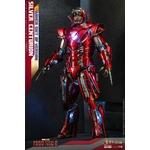 Figurine Iron Man 3 Movie Masterpiece Silver Centurion Armor Suit Up Version 32cm 1001 Figurines (2)