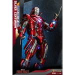 Figurine Iron Man 3 Movie Masterpiece Silver Centurion Armor Suit Up Version 32cm 1001 Figurines (7)