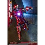 Figurine Iron Man 3 Movie Masterpiece Silver Centurion Armor Suit Up Version 32cm 1001 Figurines (6)