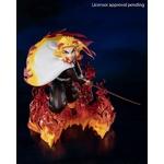 Statuette Demon Slayer Kimetsu no Yaiba Figuarts ZERO Kyojuro Rengoku Flame Hashira 15cm 1001 Figurines (2)