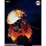 Statuette Demon Slayer Kimetsu no Yaiba Figuarts ZERO Kyojuro Rengoku Flame Hashira 15cm 1001 Figurines 2