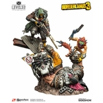 Statuette Borderlands 3 FL4K A Good Hunt 58cm 1001 figurines (1)