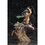 Statuette Attack on Titan ARTFX J Eren Yeager Renewal Package Ver. 26cm 1001 Figurines (3)