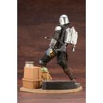 Statuette Star Wars The Mandalorian ARTFX Mandalorian & The Child 26cm 1001 Figurines (5)