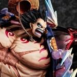Statuette One Piece Excellent Model P.O.P. SA-Maximum Monkey D. Luffy Gear 4 Boundman Ver. 2 - 27cm 1001 Figurines (8)