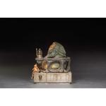 Statuette Star Wars Deluxe Art Scale Jabba The Hutt 23cm 1001 Figurines  (4)