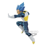 Statuette Dragon Ball Super Chosenshiretsuden II SSGSS Vegeta Evolution 13cm 1001 Figurines (2)