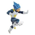 Statuette Dragon Ball Super Chosenshiretsuden II SSGSS Vegeta Evolution 13cm 1001 Figurines (3)