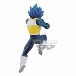 Statuette Dragon Ball Super Chosenshiretsuden II SSGSS Vegeta Evolution 13cm 1001 Figurines (4)