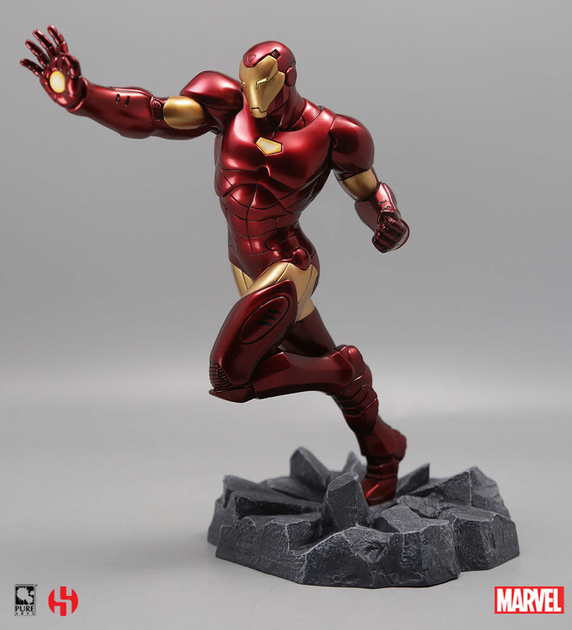 Statuette Marvel Comics Civil War Iron Man 22cm 1001 figurines