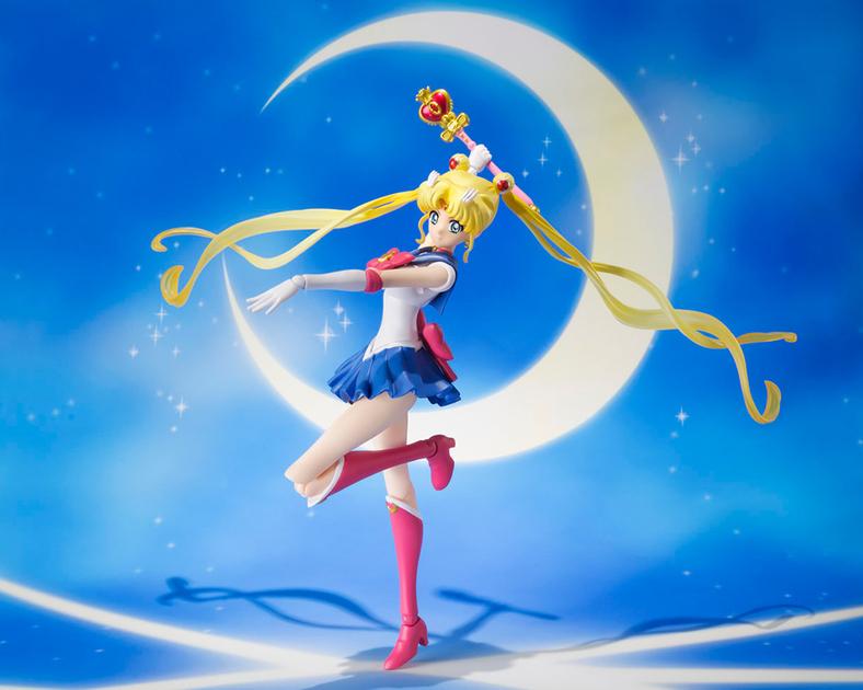 Figurine Sailor Moon Crystal S.H. Figuarts Sailor Moon Pretty Guardian 14cm 1001 Figurines 4