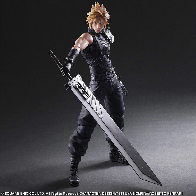 Figurine Final Fantasy VII Remake Play Arts Kai No. 1 Cloud Strife 28cm 1001 Figurines