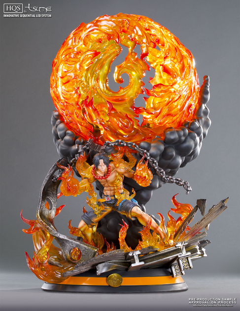 Statue One Piece Portgas D. Ace HQS by Tsume 1001 Figurines 1