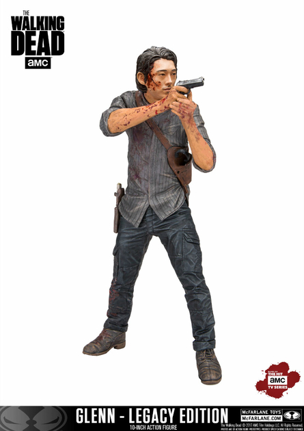 Figurine The Walking Dead TV Version Deluxe Glenn Legacy Edition 25cm 1001 Figurines