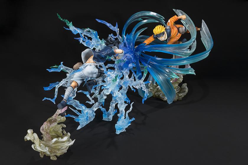 Figurine Naruto Figuarts Zero Kizuna Relation Sasuke Uchiwa 19cm 1001 Figurines 5